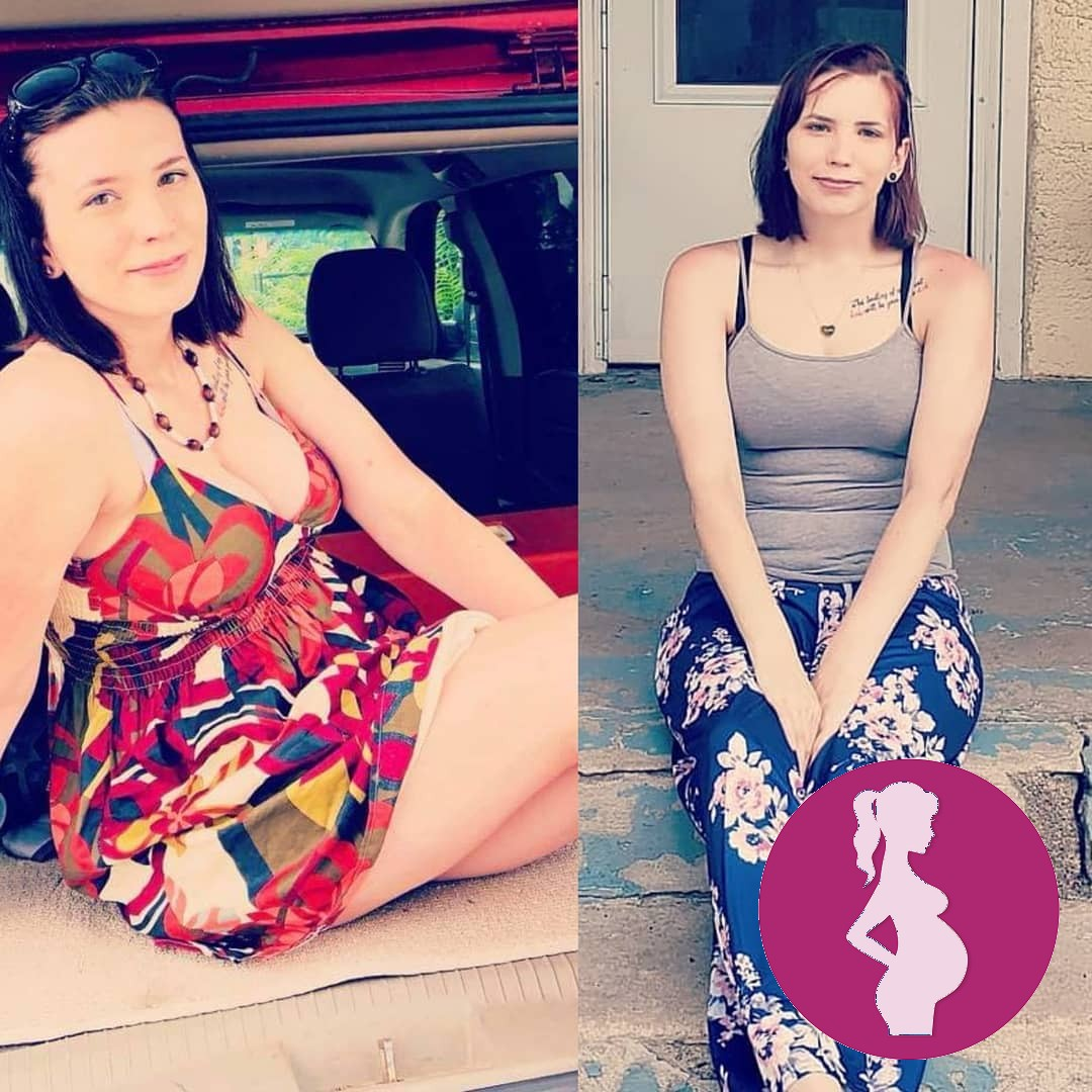 Heres my transformationtuesday About a years difference.Not much has changed.Left pic I was p…